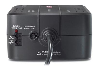 APC Back-UPS ES, 6 outlet 350VA, 120V, without auto shutdown software