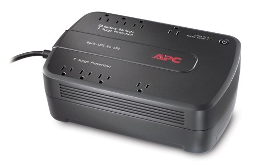 APC Back-UPS ES 8 Outlet 550VA 120V