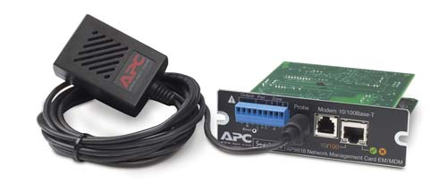 AP9618 - UPS Network Management Card w/ Environmental Monitoring & Out of Band Management