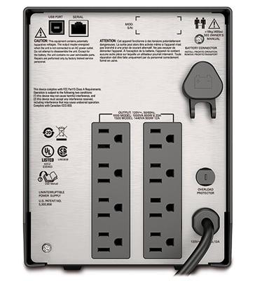 APC Smart-UPS C SMC1500 | APCGuard com
