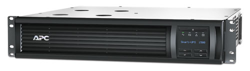 APC Smart-UPS, 1000 Watts / 1500 VA,Input 120V / Output 120V, Interface Port SmartSlot, USB, Rack Height 2 U
