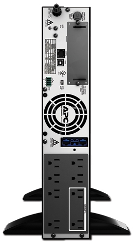 APC Smart-UPS XL 750VA Rack/Tower LCD 120V Rear