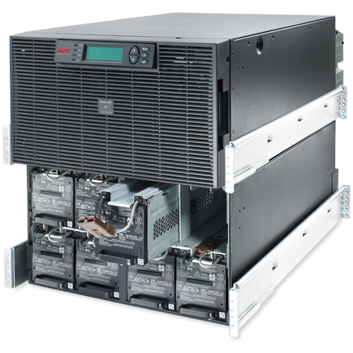 APC Smart-UPS RT 15kVA RM 208V - Open Inside View