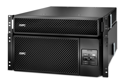 APC Smart-UPS SRT 6000VA RM with 208V to 120V 2U Step-Down Transformer