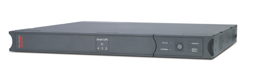 APC Smart-UPS SC 450VA 120V - 1U Rackmount/Tower