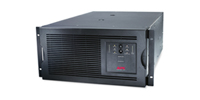 SUA5000RMT5U - APC Smart-UPS, 4000 Watts / 5000 VA,Input 208V / Output 208V, Interface Port DB-9 RS-232, SmartSlot, Rack Height 5 U